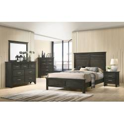 205431KW-S5 5PC SETS Newberry California King Panel Bed + Nightstand + Dresser + Mirror + Chest