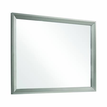 222704 Ramon Dresser Mirror Metallic Sterling