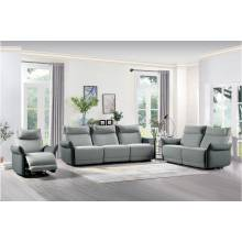 9819GY*3 3pc Set: Sofa, Love, Chair