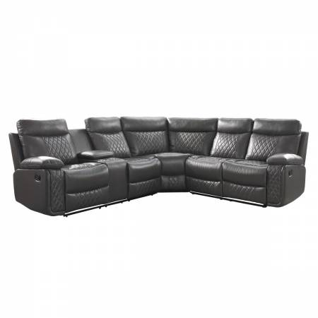 9599GRY*SC 3-Piece Reclining Sectional