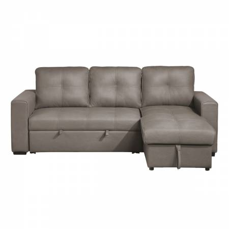 9569NFTP*SC 2-Piece Reversible Sectional with Pull-out Bed and Hidden Storage