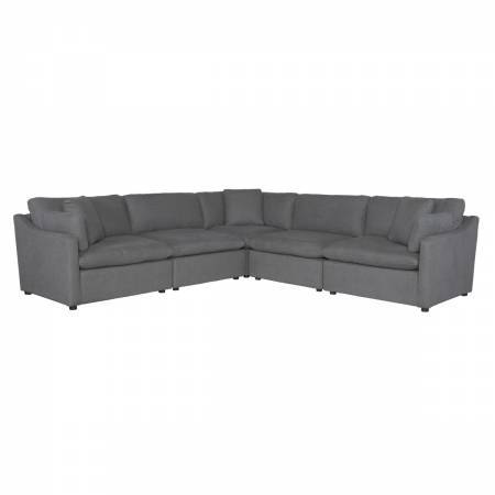 9544GY*5SC 5-Piece Modular Sectional
