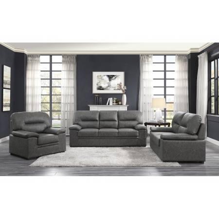 9407DG*3 3pc Set: Sofa, Love, Chair