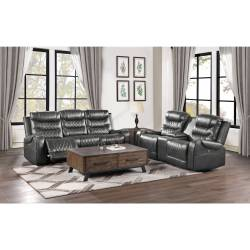 9405GY*2PW 2pc Set: Sofa, Love