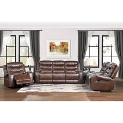 9405BR*3 3pc Set: Sofa, Love, Chair