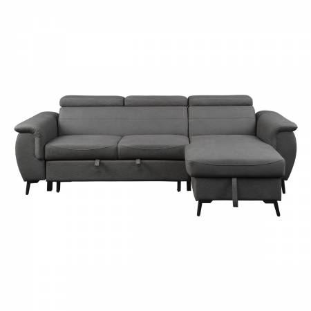 9403GY*SC 2-Piece Reversible Sectional