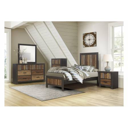 2059T-1*4 4PC SETS Twin Bed + NS + D + M