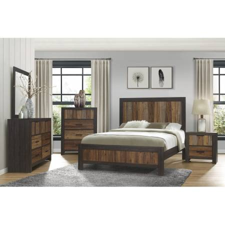 2059-1*4 4PC SETS Queen Bed + NS + D + M