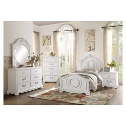 2039FW-1*4 4PC SETS Full Bed + NS + D + M