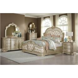 1919NC-1*4 4PC SETS Queen Bed + NS + D + M
