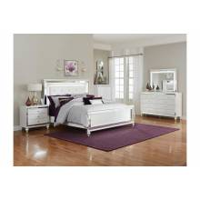 1845KLED-1CK*4 4PC SETS California King Bed + NS + D + M