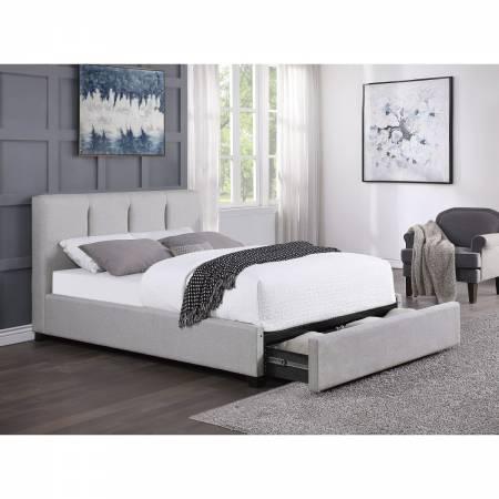 1632F-1DW* Full Platform Bed with Storage Drawer