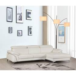 727 - White Sectional
