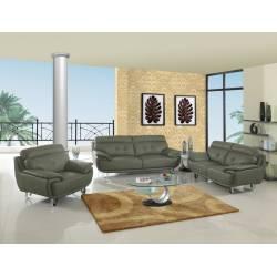 A159 - Gray 2PC SETS Sofa + Loveseat