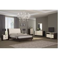 Paris - Beige 4PC SETS Queen Bed