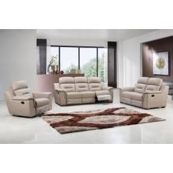 9408 - Beige 2PC SETS Sofa + Loveseat