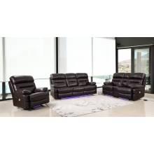 9442 - Brown 2PC SETS Power Reclining Sofa + Loveseat