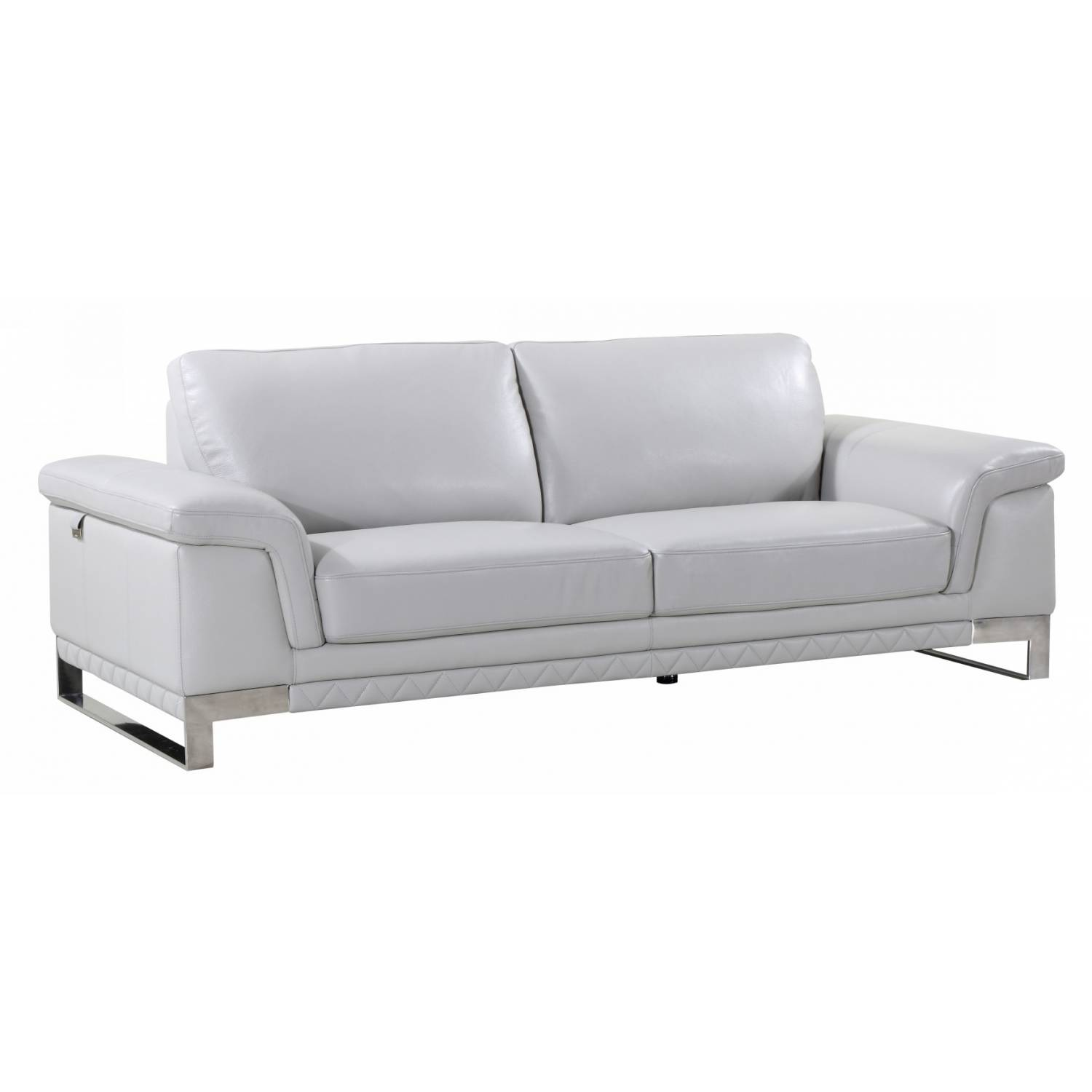 Picture of: 411 Light Gray Sofa