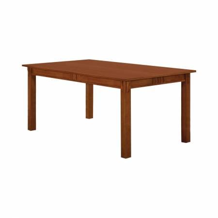 100621 Marbrisa Rectangular Dining Table Sienna Brown