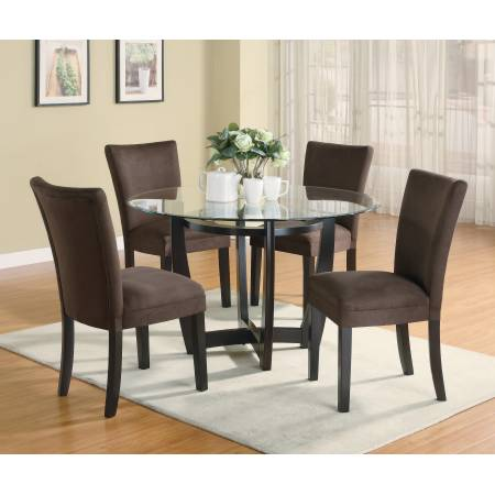 101490+101496*4 5PC SETS Bloomfield Dining Table + 4 Side Chairs