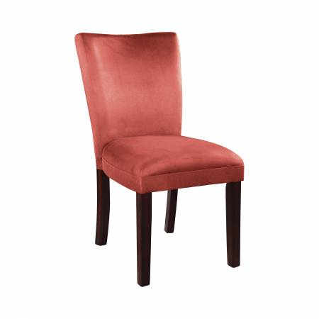 101493 Bloomfield Upholstered Side Chairs Cappuccino And Terracotta