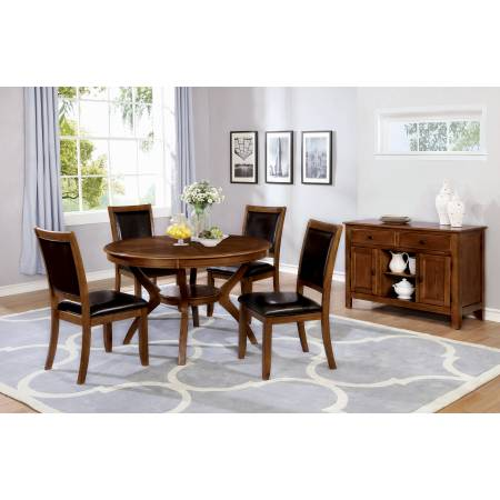 102171+102172*4 5PC SETS Nelms Dining Table + 4 Chairs