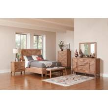 223241KE-4PC 4PC SETS E KING BED + NIGHTSTAND + DRESSER + MIRROR
