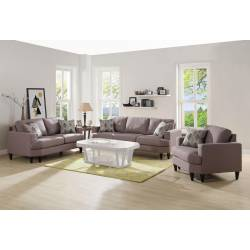 51060+51061+51062 3PC SETS Selma Collection Sofa + Loveseat + Chair