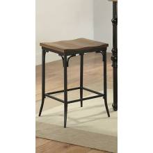Jalisa Counter Height Stool in Walnut & Black - Acme Furniture 72352