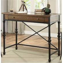 Jalisa Counter Height Table in Walnut & Black - Acme Furniture 72350