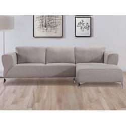 Josiah Sectional Sofa in Sand Fabric - Acme Furniture 55095
