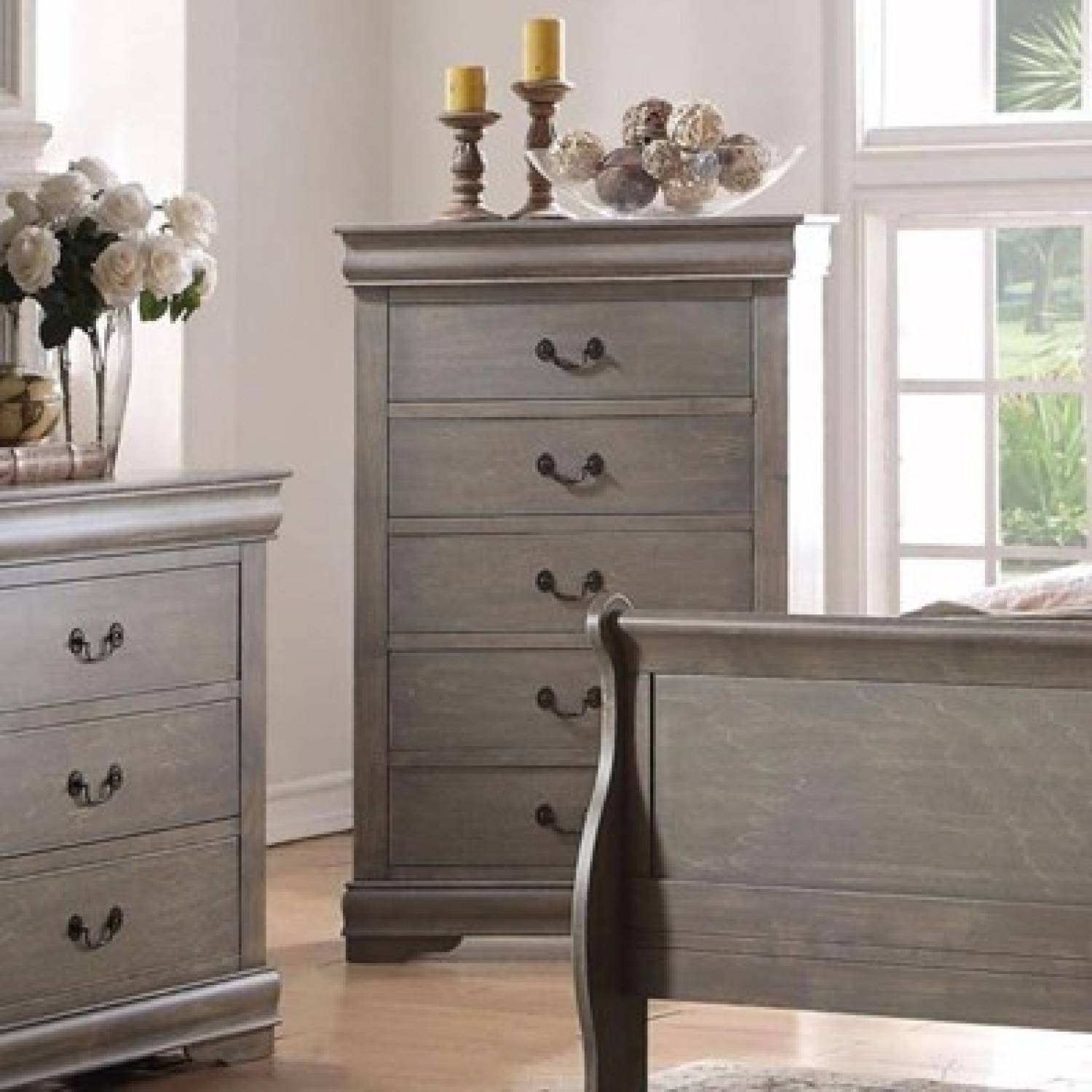 Louis Philippe 23866 Drawer Chest