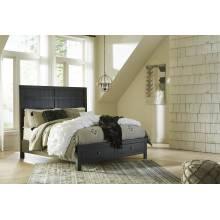 B746 Noorbrook Queen Panel Storage Bed
