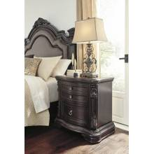 B806 Wellsbrook Two Drawer Night Stand
