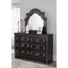 B342 Banalski Dresser + Bedroom Mirror