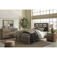 B337 Chadbrook 4PC SETS Queen Panel Bed