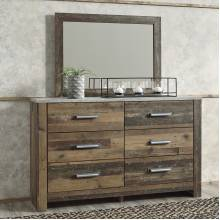 B337 Chadbrook Dresser + Bedroom Mirror