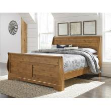 B219 Bittersweet King Sleigh Bed