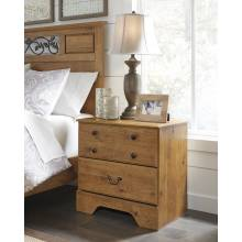 B219 Bittersweet Two Drawer Night Stand