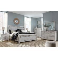 B740 Brashland 4PC SETS Cal King Panel Bed
