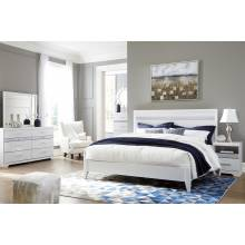 B302 Jallory 4PC SETS King Panel Bed