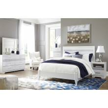 B302 Jallory 4PC SETS Queen Panel Bed