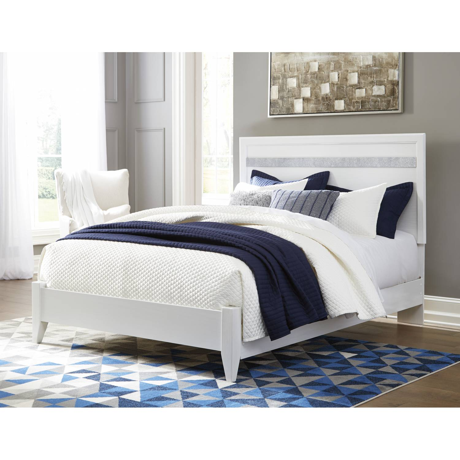 Ashley Furniture Orange County Ca: B302 Jallory Queen Panel Bed