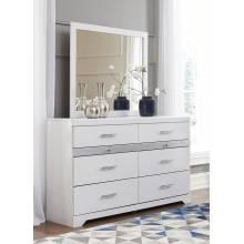 B302 Jallory Dresser + Bedroom Mirror