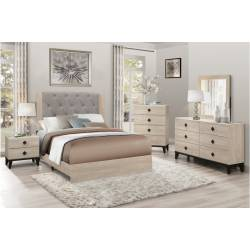 1524F-1Gr Full Bedroom set 4PC in a Box Whiting