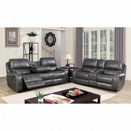 CM6950GY-SF-LV 2PC SETS WALTER SOFA + LOVE SEAT