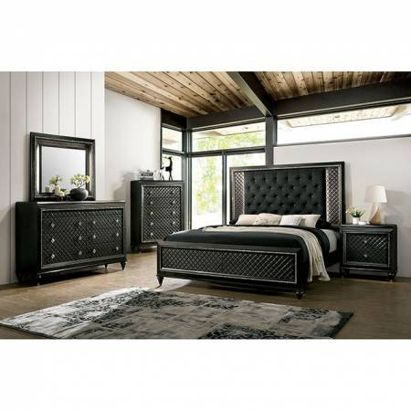 CM7584-CK-4PC 4PC SETS DEMETRIA Cal.King BED