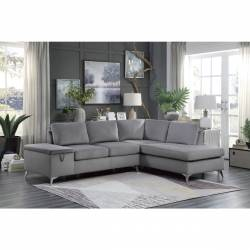 9847GY*SC 2-Piece Reversible Sectional with Storage Radnor