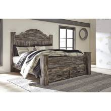 B297 Lynnton King Poster Storage Bed