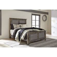 B297 Lynnton Queen UPH Panel Bed